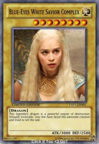 Magic The Gathering spoof Daenerys