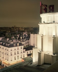 Over Paris photography by Alain Cornu