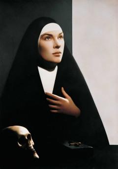 Sainte Gertrude la Grande _1990 pierre-gilles Edwige