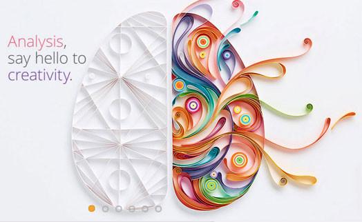 Yulia Brodskaya. Analysis say hello to creativity. Paper Graphic