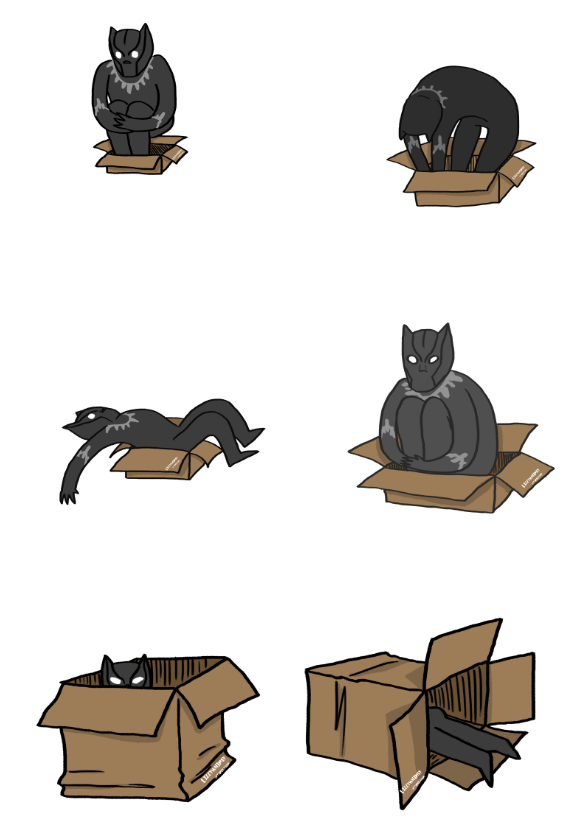 LizzyWhimsy_if Tchalla sits he fits #BlackPanther