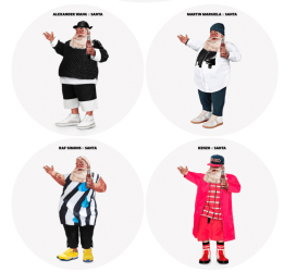 Designer Claus: Santa by fashion's elite