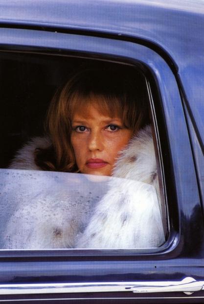 Helmut Newton fur Jeanne Moreau 70s