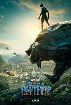 Black Panther Poster-looking over wakanda