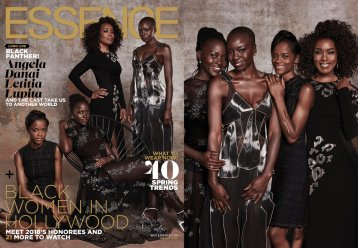 Essence Black Panther Cover and Photo Shoot (8)