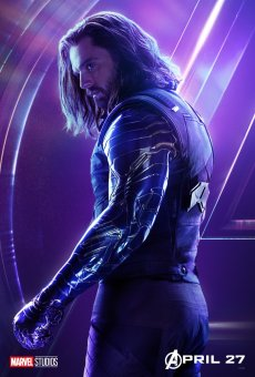 Avengers Infinity War Character Posters (Bucky)