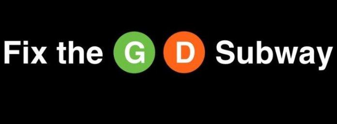 Fix the G D Subway